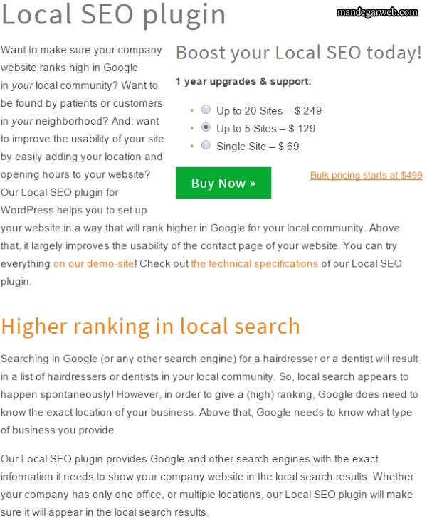 بهینه سازی وردپرس برای جستجوی محلی